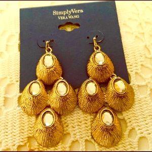 Simply Vera Wang Dangle Earrings